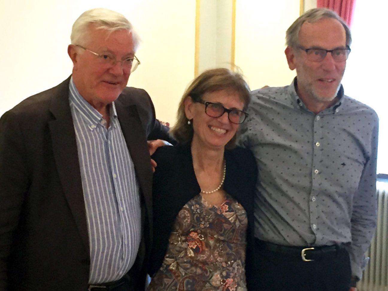 Bild på Medlingsinstitutets tre första generaldirektörer
