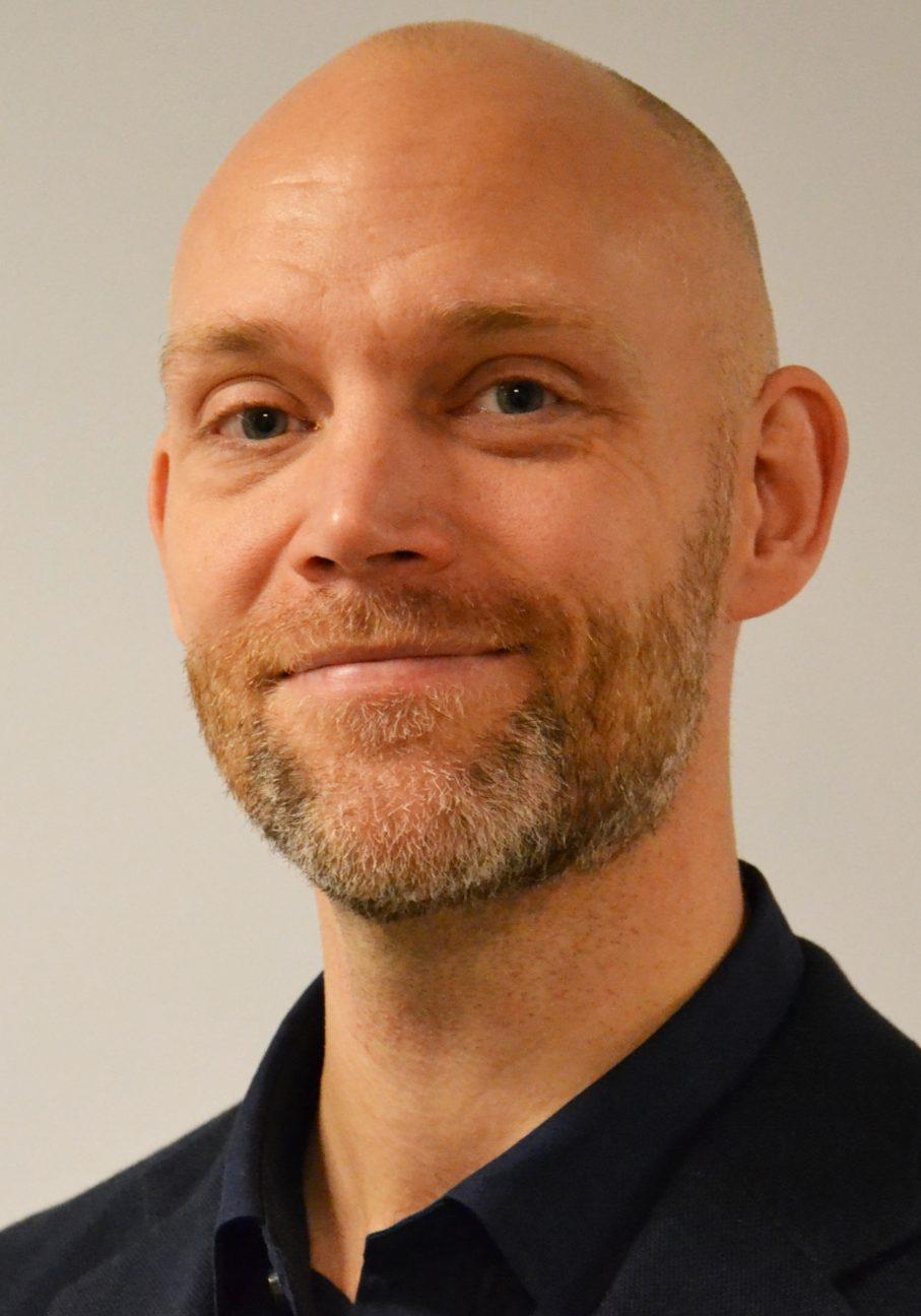 Porträtt på Petter Hällberg